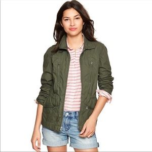 Gap • dusty olive utility jacket